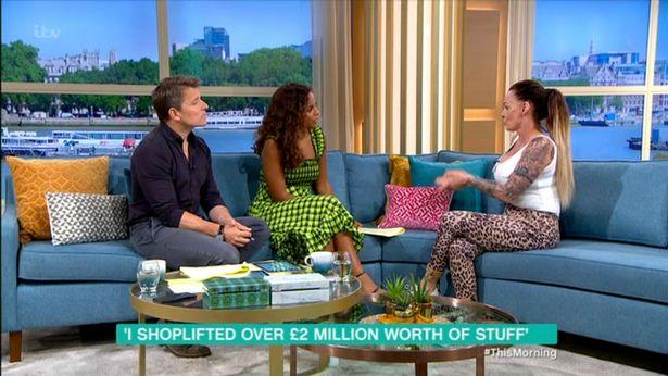 Mum-of-six Kim Parry claimed she earned up to £20,000 a month shoplifting and has outraged This Morning viewers by signing a publishing deal to tell her story.