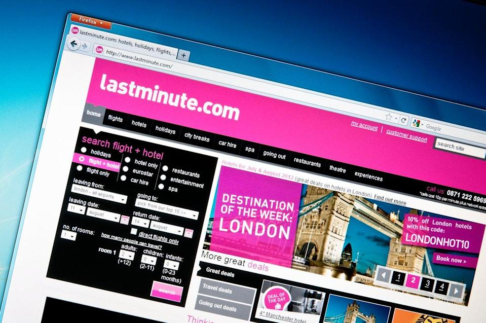 Lastminute.com has committed to refunding over 9,000 customers for cancelled holidays (Getty Images)