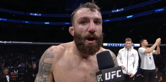 Michael Chiesa calls out Colby Covington - UFC Raleigh