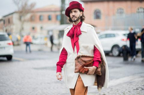 Pitti Street Style - Credit: Christian Vierig/ Getty Images Europe