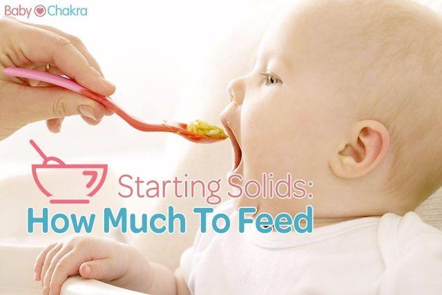 Weaning In The Initial Months