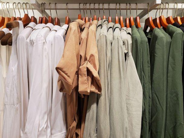 PHOTO: Shirts are seen here in this undated stock photo. (STOCK PHOTO/Getty Images)