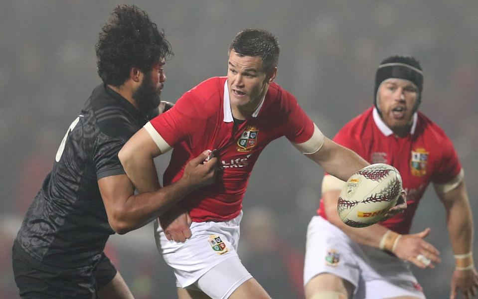 Johnny Sexton has six Test caps for the Lions but there was no place for him on the plane to South Africa - PA