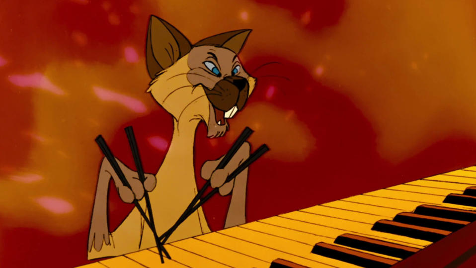'The Aristocats' features a cat acting as a caricature of East Asian people. (Credit: Disney)