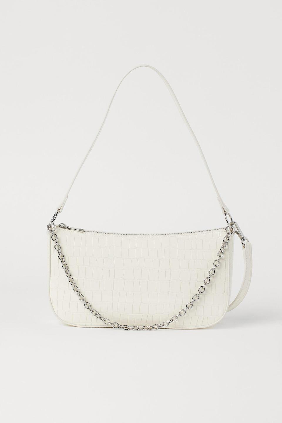 <p>You'll want to get your hands on this crisp and practical <span>Small Handbag</span> ($18).</p>