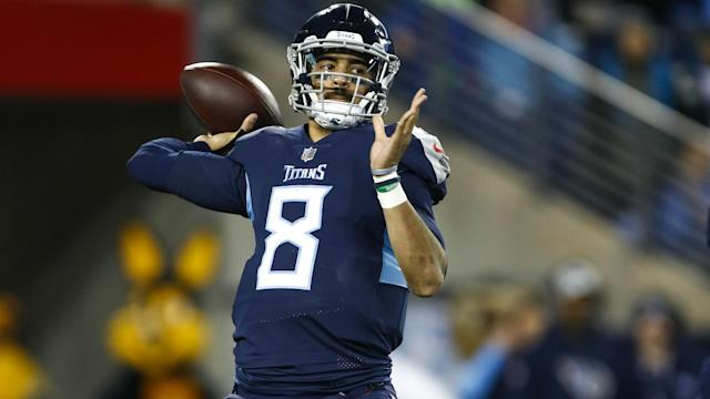 The future of Tennessee Titans quarterback Marcus Mariota was discussed by head coach Mike Vrabel.