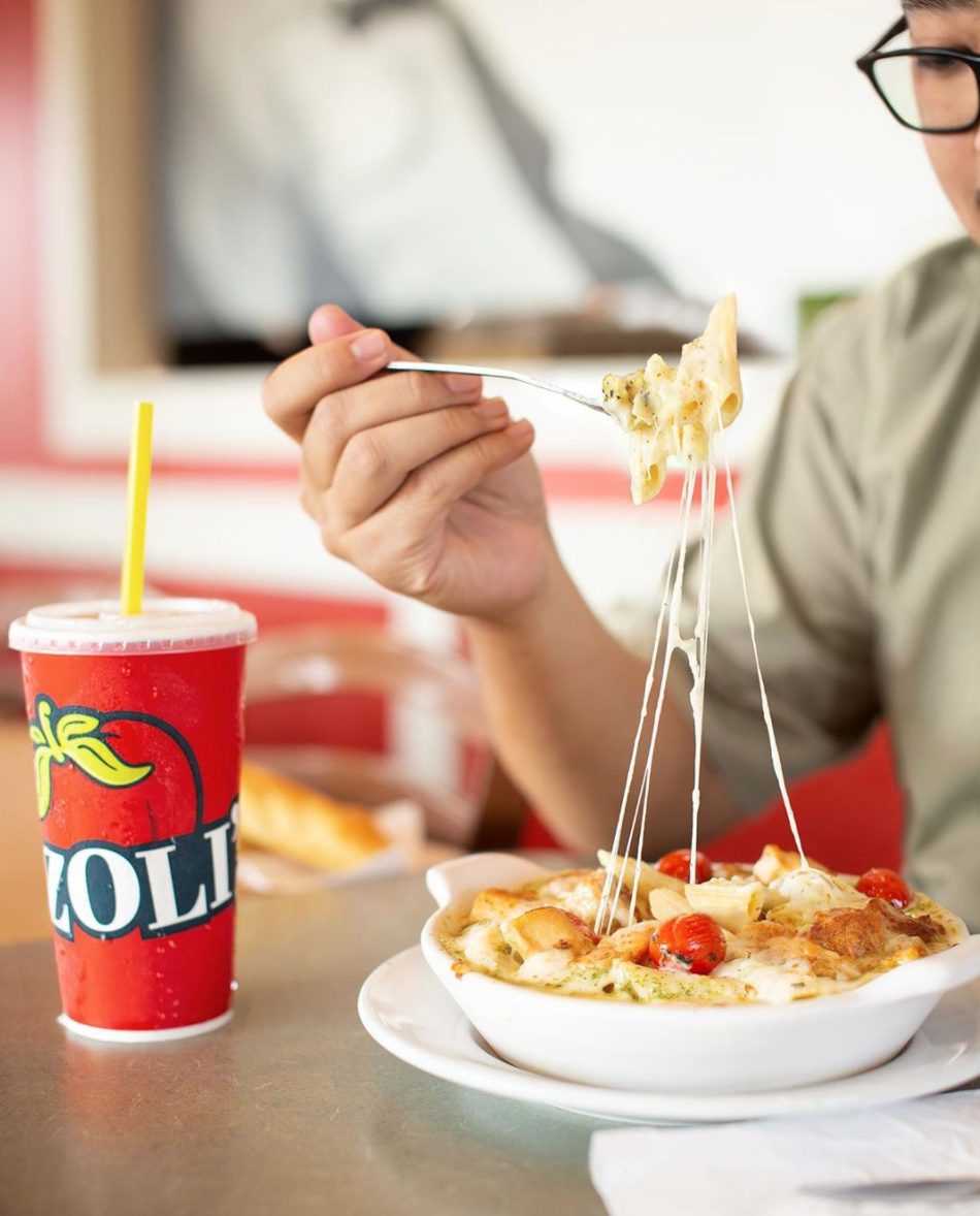 "<p>We might be a little biased to places that serve unlimited breadsticks, but <a href=""https://www.fazolis.com/"" rel=""nofollow noopener"" target=""_blank"" data-ylk=""slk:Fazoli's"" class=""link rapid-noclick-resp"">Fazoli's</a> really lives up to the hype. Emulating Italian roots, Fazoli's is the type of place you go to if you're looking for a hearty meal. Based in Kentucky, there 215 locations nationwide, so if you find one, take advantage. </p>"