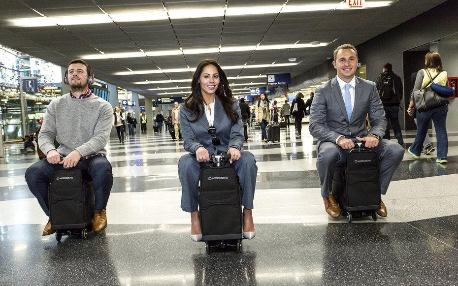 This Riding Suitcase Will Get You to Your Gate in Record Time