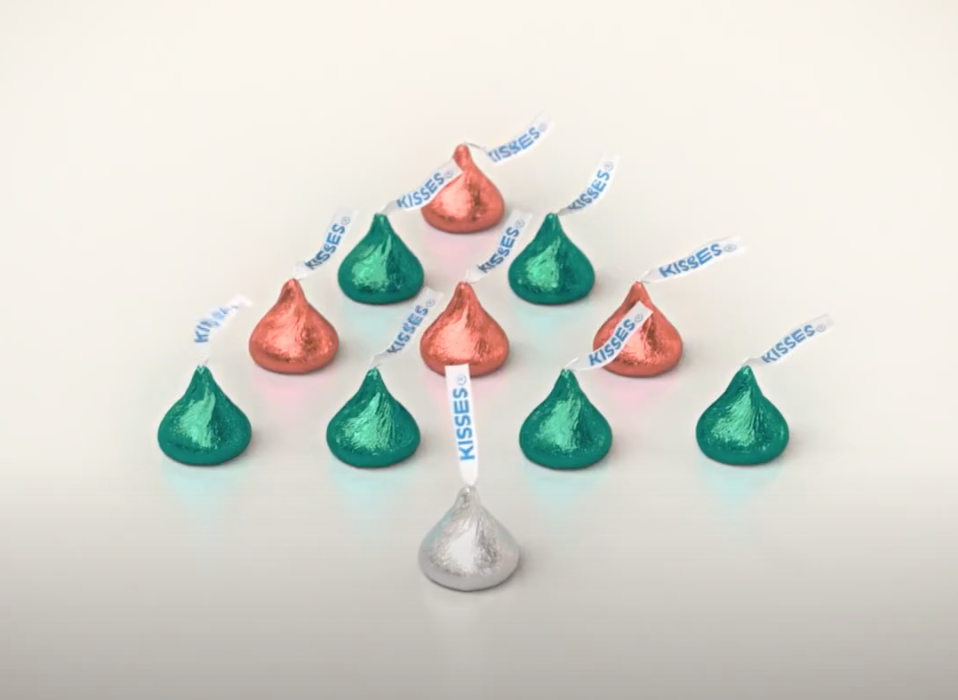 Hershey's responds to criticism over its new Kisses holiday commercial  (Hershey's)