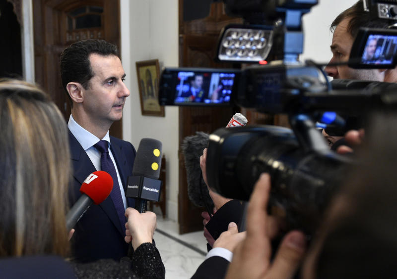 Syria's Assad ready to 'negotiate everything' with rebels