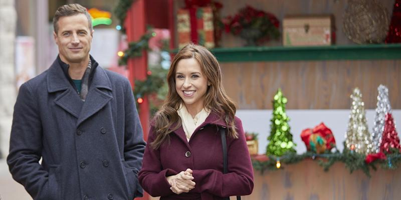 Christmas At Pemberley Manor Cast.Hallmark Is Airing Christmas Movies Practically 24 7 In July