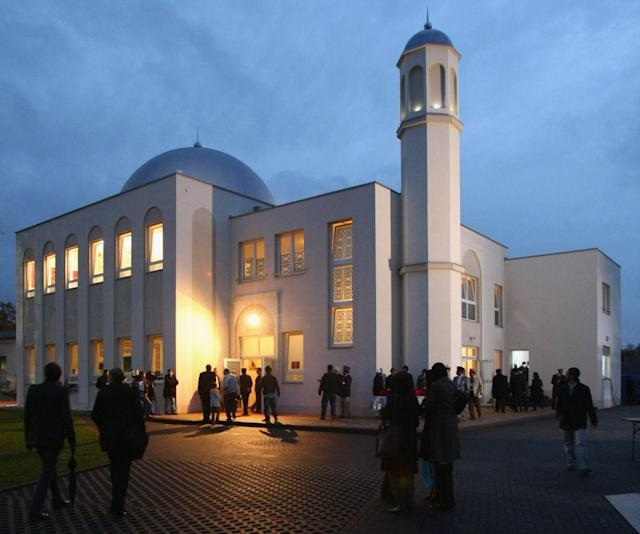 <b>BERLIN, GERMANY: </b> The Khadija mosque in Berlin, Germany was built by Ahmadiyya Muslims and opened in 2008. It was the first mosque to open in east Berlin.