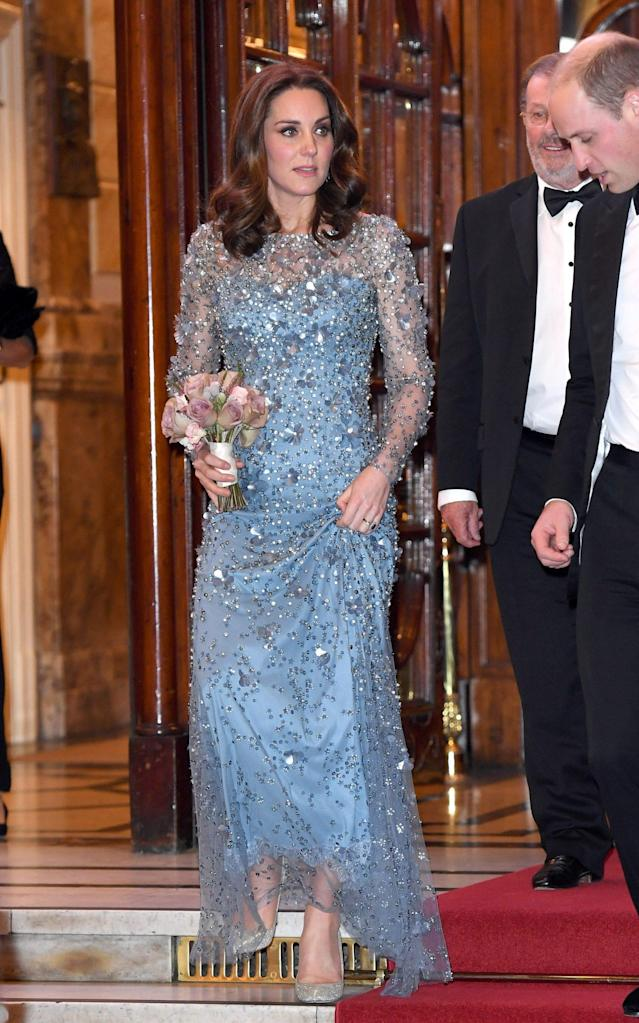 The Duchess of Cambridge at the Royal Variety performance. - WireImage