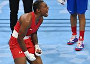 """<p>Biography: 23 years old</p> <p>Event: Women's welterweight boxing</p> <p>Quote: """"It was a great run! I will leave Tokyo with a bronze medal! Love all my supporters and fans!""""</p>"""