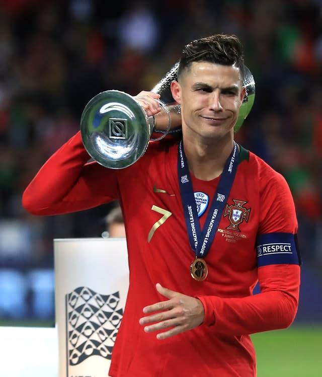 Juventus reportedly believe they need to re-sign Cristiano Ronaldo to secure further silverware (Mike Egerton/PA)