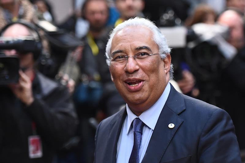 Portugal's socialist premier Antonio Costa has offered to welcome up to 5,800 more refugees in addition to the 4,500 they already agreed to take (AFP Photo/Emmanuel Dunand)