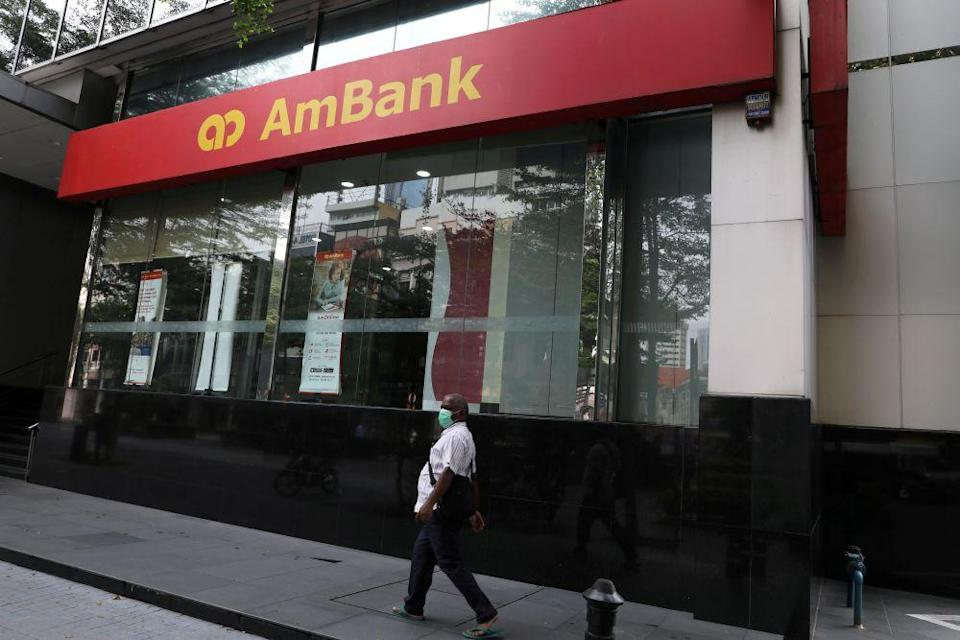 Moody's changed AmBank's A3 rating to negative after the bank announced a RM2.8 billion settlement with the Malaysian government over its role in the 1MDB embezzlement fiasco. — Reuters pic