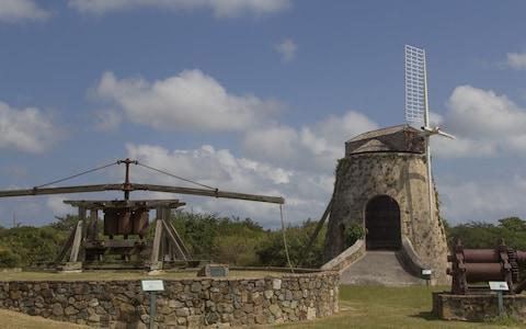 Animal and windmill at Estate Whim Museum, St Croix - Credit: iStock
