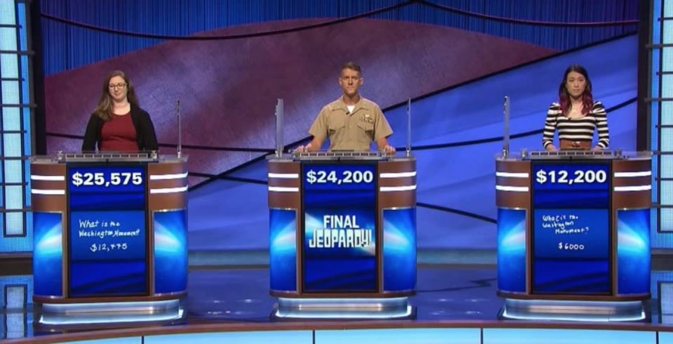 """<p>No matter how much money you've amassed, if you don't come in first place, you don't get to claim it. Instead, the <a href=""""https://doyouremember.com/118742/jeopardy-fans-angry-show-underpays-contestants"""" rel=""""nofollow noopener"""" target=""""_blank"""" data-ylk=""""slk:second place contestant get $2,000"""" class=""""link rapid-noclick-resp"""">second place contestant get $2,000</a> and third place gets $1,000. </p>"""