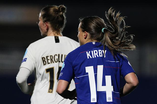 Chelsea and Paris Saint-Germain met in the Women's Champions League on Thursday
