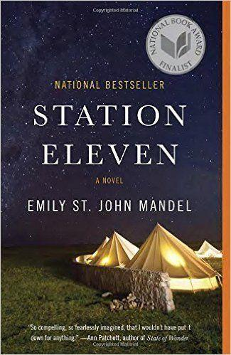"""I've read <a href=""""https://www.amazon.com/Station-Eleven-Emily-John-Mandel/dp/0804172447/ref=sr_1_1_twi_pap_2?ie=UTF8&qid=1508335051&sr=8-1&keywords=station+eleven"""" target=""""_blank"""">this book</a> before, but I'm rereading it for a book club right now. It's post-apocalyptic storytelling contrasted with descriptive, lyrical writing."""