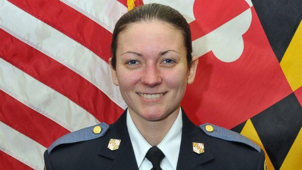 PHOTO: Baltimore County police officer Amy Caprio was hit by a car and killed in the line of duty, May 21, 2018. (Baltimore County Police & Fire)