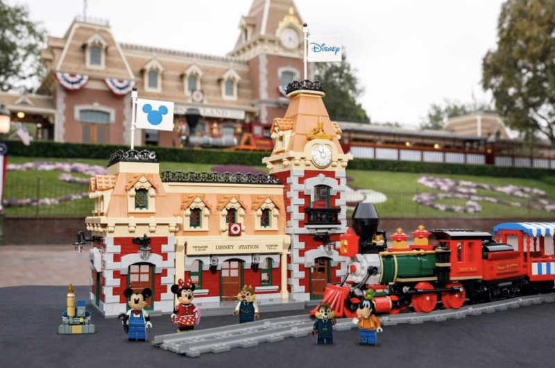 The Disney Train and Station Lego set features more than 2,900 pieces. (Photo: Lego)