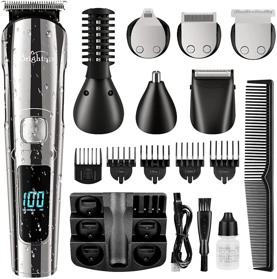 Brightup all-in-one beard trimmer and trimmer