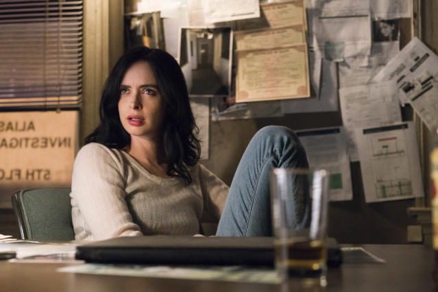 Krysten Ritter returns as the titular private eye in <em>Jessica Jones</em>. (Photo: Netflix)