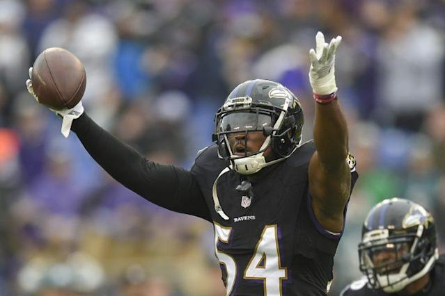 Zach Orr retired suddenly due to injury. (AP)
