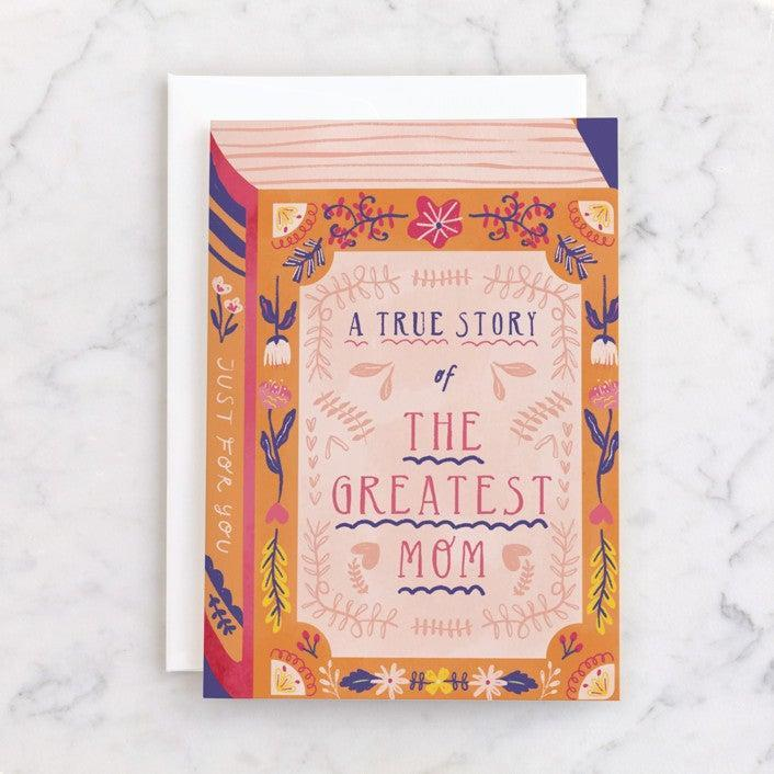 """<h2>Minted</h2><br><strong>Best For: Independent Artist Designs</strong><br>Minted's site features hundreds of aesthetically pleasing cards created by independent artists. Make sure your mom's annual Mother's Day Facebook post looks extra pretty this year with some of this artsy stationery. <br><br><em>Shop</em> <strong><em><a href=""""http://minted.com"""" rel=""""nofollow noopener"""" target=""""_blank"""" data-ylk=""""slk:Minted"""" class=""""link rapid-noclick-resp"""">Minted</a></em></strong><br><br><strong>Minted</strong> The Greatest Book of History About Mom, $, available at <a href=""""https://go.skimresources.com/?id=30283X879131&url=https%3A%2F%2Fwww.minted.com%2Fproduct%2Fmothers-day-cards%2FMIN-015-IMG%2Fthe-greatest-book-of-history-about-mom"""" rel=""""nofollow noopener"""" target=""""_blank"""" data-ylk=""""slk:Minted"""" class=""""link rapid-noclick-resp"""">Minted</a>"""