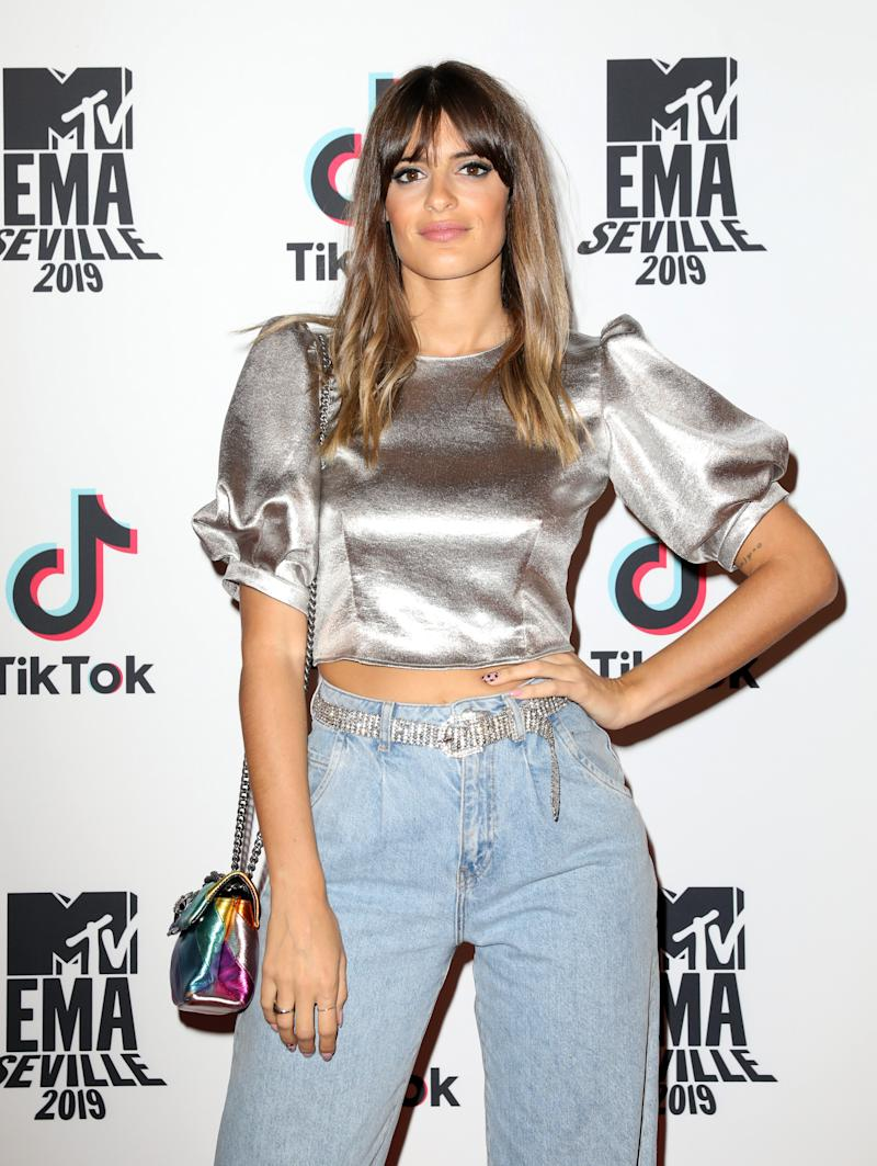 SEVILLE, SPAIN - NOVEMBER 01: Susana Molina attends the MTV and Tik Tok Present: Taste of Seville MTV EMA Pre Party at Casa De Salinas on November 01, 2019 in Seville, Spain. (Photo by Tristan Fewings/MTV 2019/Getty Images for MTV)