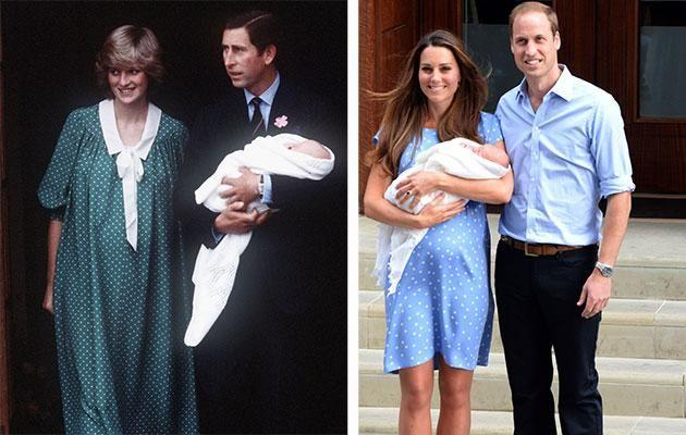 Kate has made efforts to recreate moments and outfits made famous by Diana. Photo: Getty