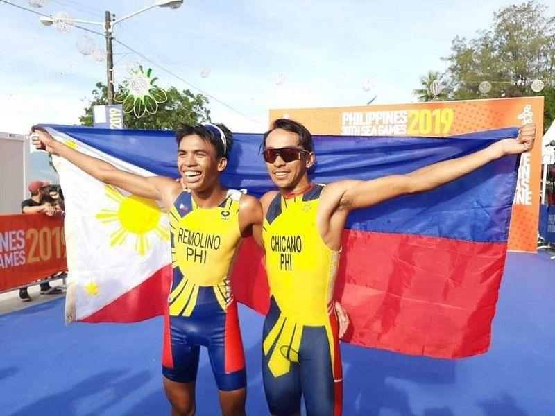 Chicano, Remolino win country's first gold, silver medals in 30th SEA Games