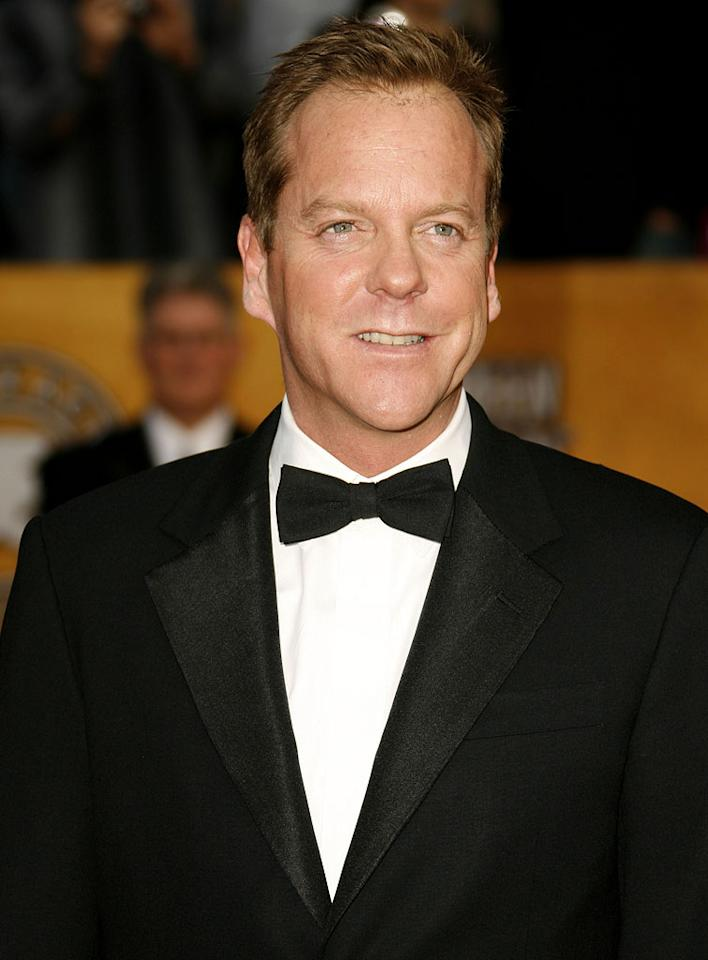 """<a href=""""/kiefer-sutherland/contributor/29952"""">Kiefer Sutherland</a>at the <a href=""""/2007-screen-actors-guild-awards/show/40550"""">13th Annual Screen Actors Guild Awards</a>."""