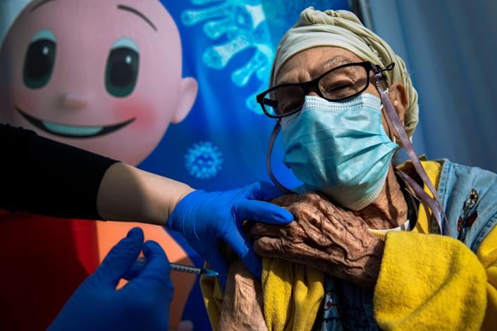 Virus Outbreak Israel (Copyright 2021 The Associated Press. All rights reserved)