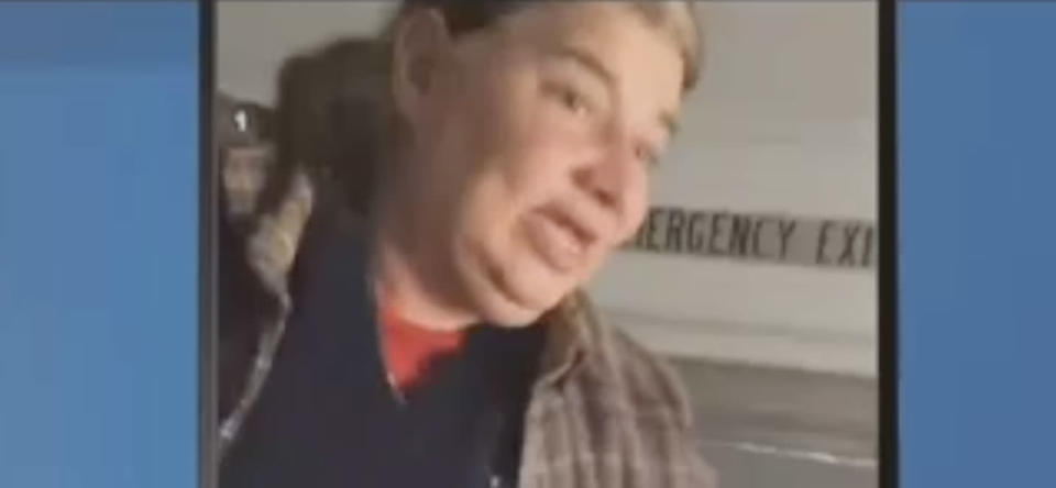 A school bus aide going ballistic on a New Jersey elementary school student was captured on video by a fellow student. (Photo: Courtesy of New Jersey 101.5)