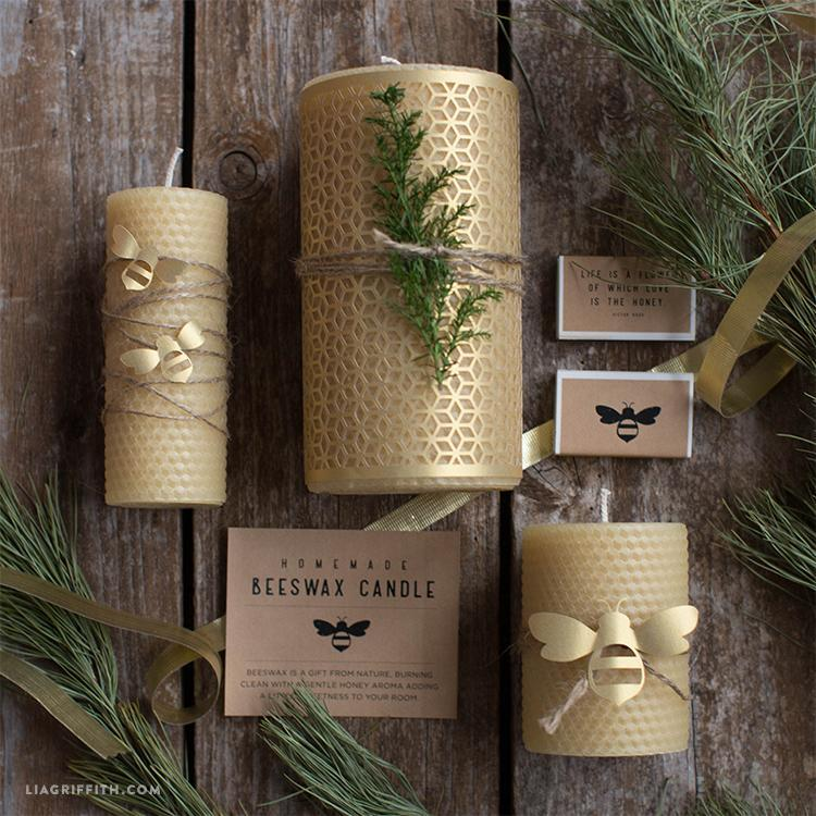 "<p>These candles look more Urban Outfitters than DIY but they don't take long to make and look extra effective this time of year. Find out how to make them <a href=""https://liagriffith.com/homemade-beeswax-candles/"" rel=""nofollow noopener"" target=""_blank"" data-ylk=""slk:here"" class=""link rapid-noclick-resp"">here</a>. <br><br><em>[photo: liagriffith]</em> </p>"