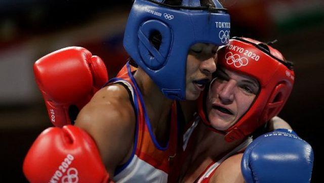One of the positives for India on the fourth day was boxer Lovlina Borgohain advancing to the quarter-finals with a 3-2 victory over Germany's Nadine Apetz in the women's welterweight category. Lovlina will next face Chinese Taipei's Chen Nien-chin n the last eight on Wednesday. AFP