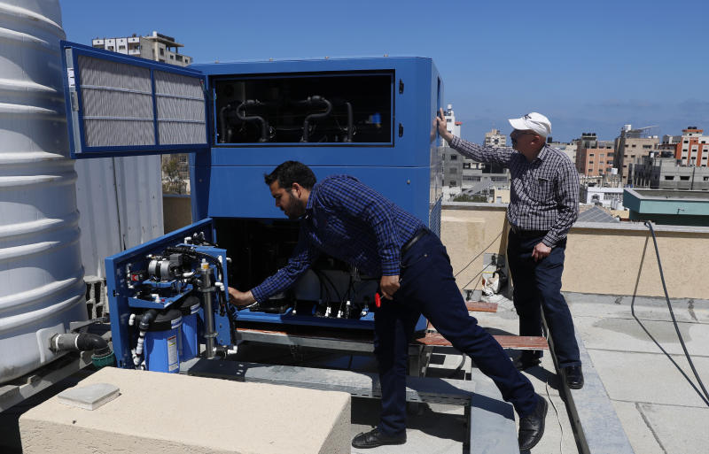 Israeli billionaire hopes to bring water to parched Gaza
