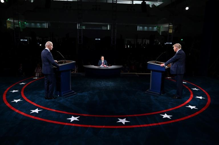 Trump, Biden trade heated barbs in first debate