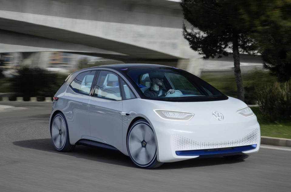 Volkswagen is taking a big bet on this new all-electric VW ID car. Source: Volkswagen