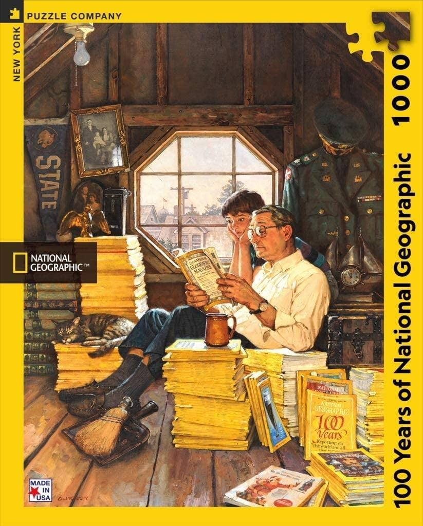 <p>They will think you are so thoughtful for giving them this <span>National Geographic 1000 Piece Jigsaw Puzzle</span> ($22).</p>