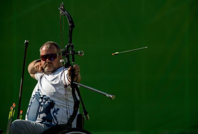 Aged 56, John Stubbs is the oldest member of ParalympicsGB