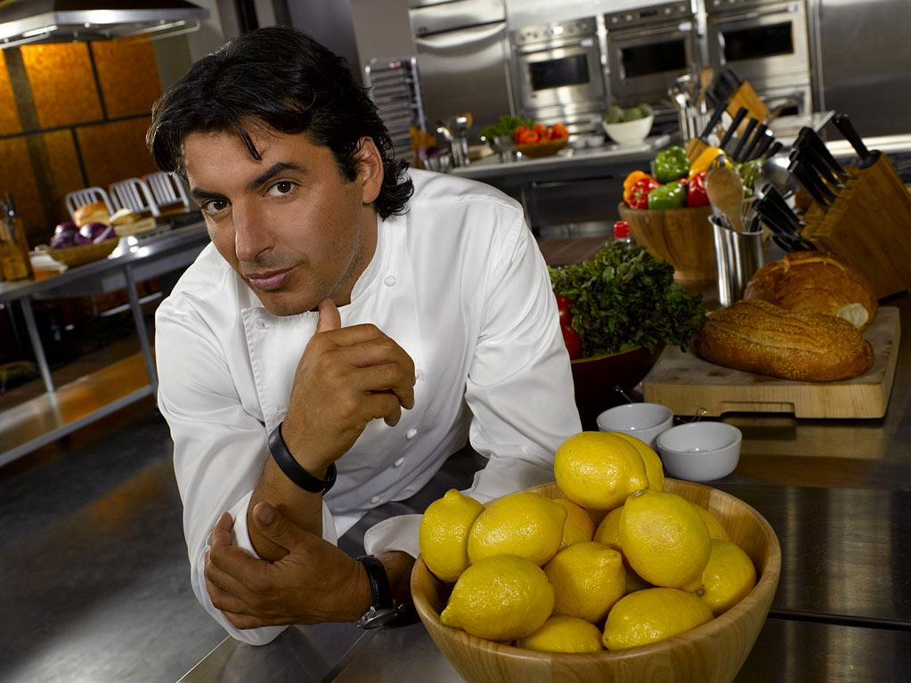 "Chef Jean-Christophe Novelli in ""Chef Academy."""