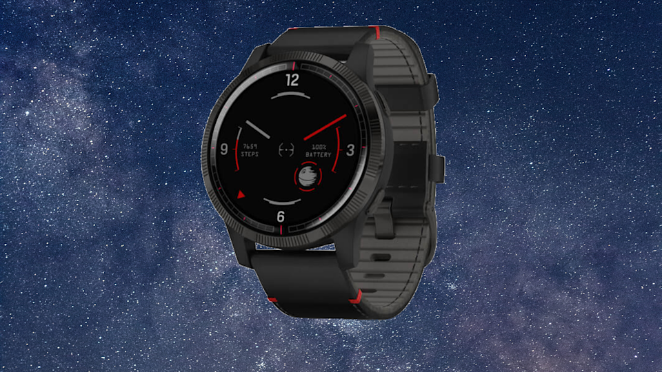 Stay fit and save with Star Wars Legacy Saga Series fitness trackers. (Photo: Garmin)