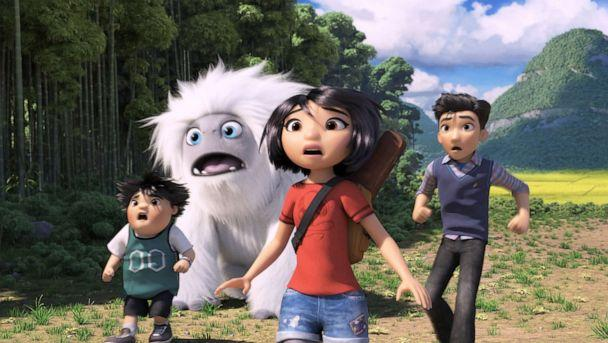 PHOTO: Chloe Bennet, Albert Tsai, and Tenzing Norgay Trainor provide voices for the animated film, 'Abominable.' (Dreamworks Animation)