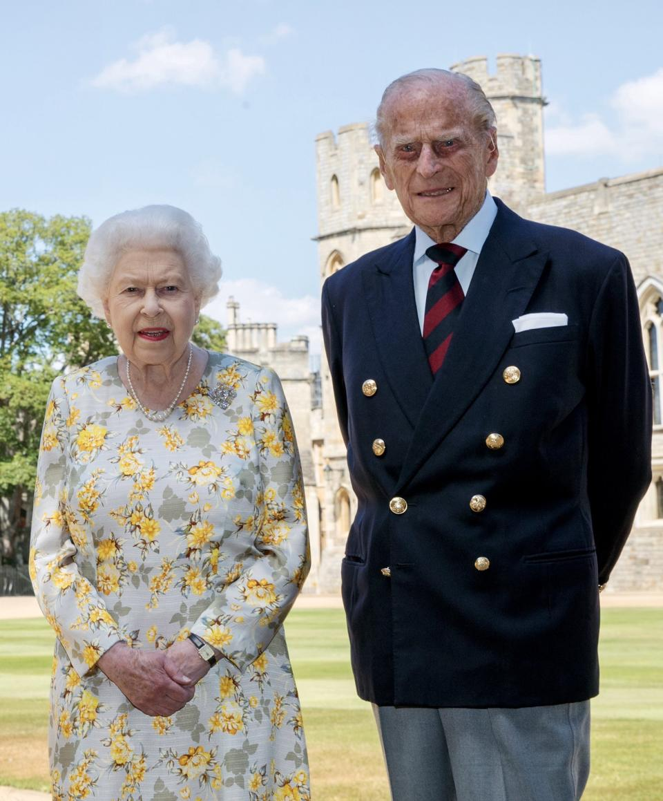 """Although<a href=""""https://ca.search.yahoo.com/search?p=PrincePhilip&fr=fp-tts&fr2"""" data-ylk=""""slk:Prince Philip"""" class=""""link rapid-noclick-resp""""> Prince Philip </a>officially retired from public duty, interest in the Duke of Edinburgh has increased thanks to - you guessed it - """"The Crown."""" The Netflix has been criticized by royal experts who have called the show's portrayal of Prince Philip inaccurate and """"disgraceful"""" for painting him as the villain. In 2020, Prince Philip celebrated his 99th birthday as well as his 73rd wedding anniversary with the Queen. (Image via Buckingham Palace)."""