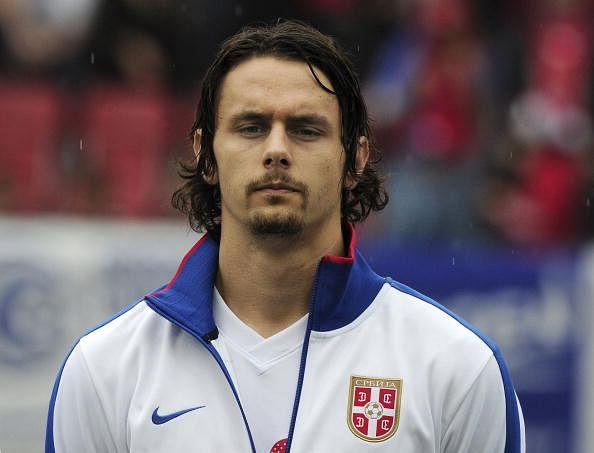 Serbia's Neven Subotic is pictured prior