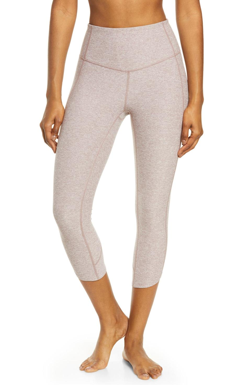 Restore Soft High Waist Tulip Crop Leggings. Image via Nordstrom.